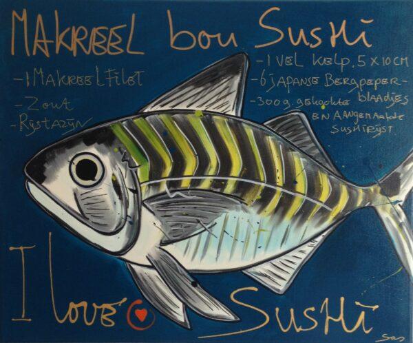 Makreel bou sushi