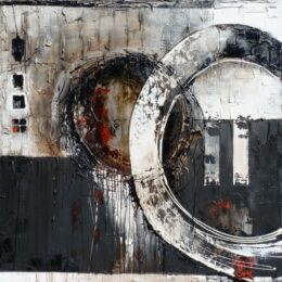 Karin van de Berg-Balance-Abstract-schilderijen-originele-kunstwerken-kunstuitleen